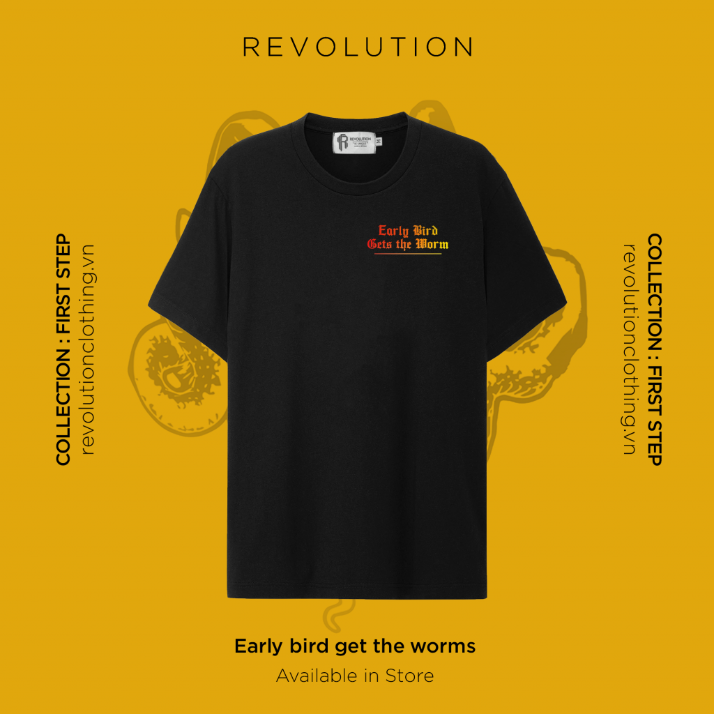 Early Bird Get The Worms T-shirt